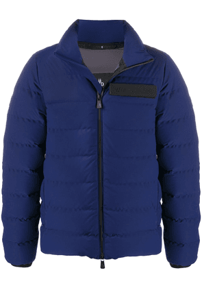 Moncler Grenoble quilted down jacket - Blue