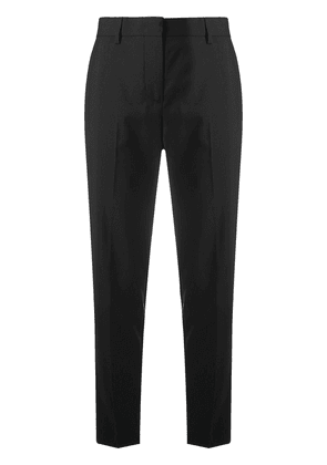 MSGM high-waist tapered trousers - Black