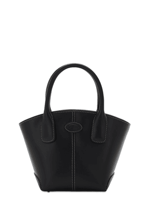 Micro D-bag New Leather Shopping Bag