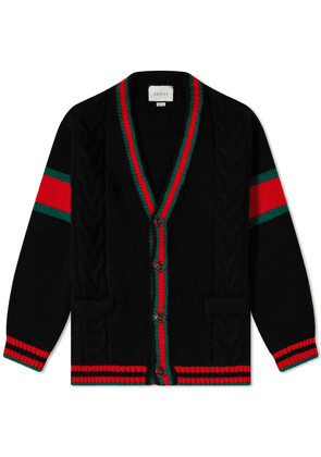 Gucci Grg Placket Arm Cardigan
