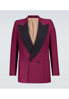 Exclusive to Mytheresa - double-breasted tuxedo blazer