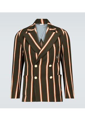 Exclusive to Mytheresa - regimental striped blazer
