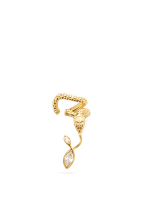 Alan Crocetti - Nashash Crystal & Gold-plated Snake Ear Cuff - Mens - Gold