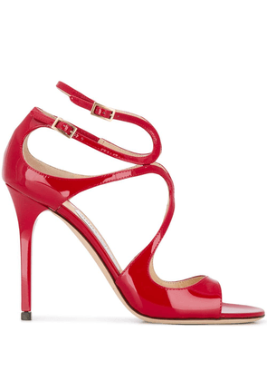 Jimmy Choo Lance strappy sandals - Red