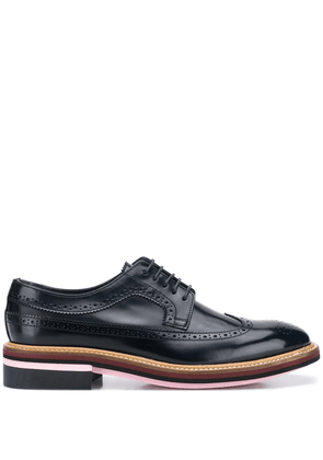 Paul Smith Chase high-shine brogues - Blue
