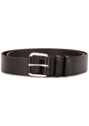 R.M.Williams Covered buckle belt - Brown