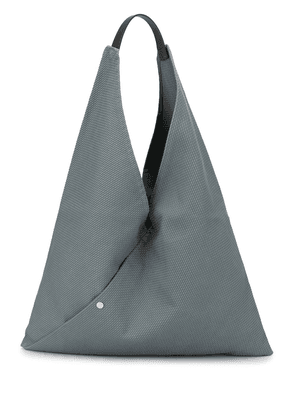 Cabas large Triangle tote - Blue