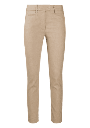 Dondup low-waist skinny trousers - Neutrals