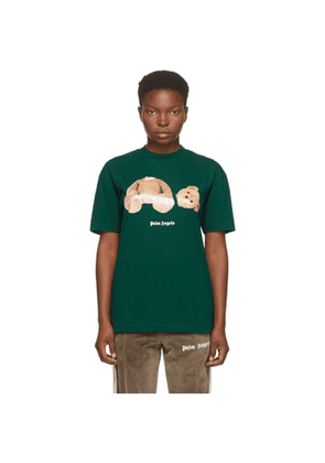 Palm Angels Green Bear T-Shirt