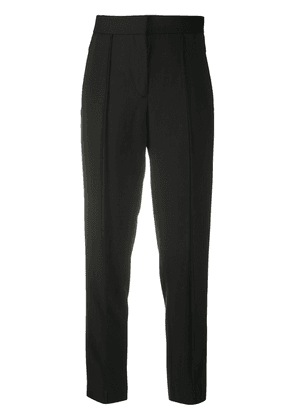 A.P.C. slim-fit cropped trousers - Black