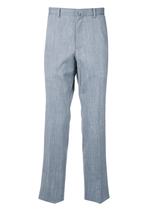 D'urban washed-effect trousers - Blue