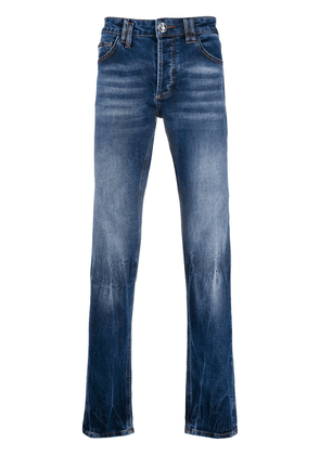 Philipp Plein super straight jeans - Blue