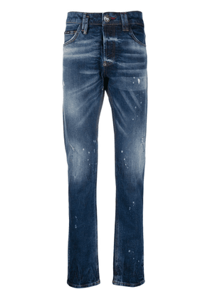Philipp Plein Skull Super Straight Cut jeans - Blue