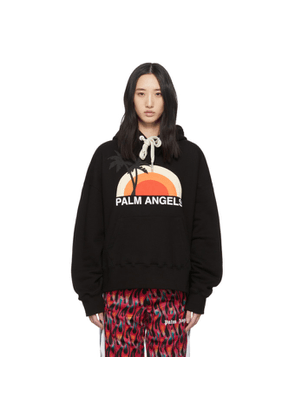 Palm Angels Black Sunset Hoodie