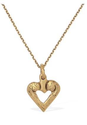 Heart Charm Long Necklace