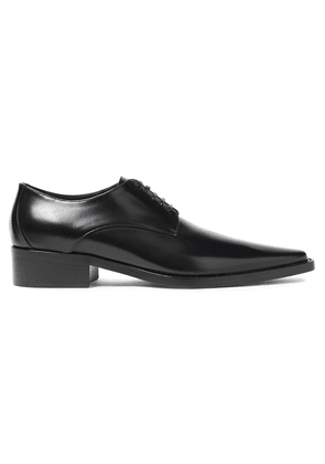 Dolce & Gabbana Leather Brogues Woman Black Size 36