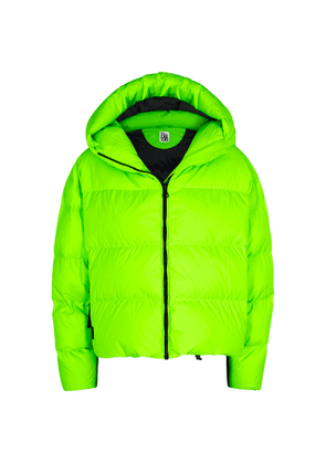 Bacon Cloud Neon Green Quilted Shell Jacket