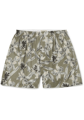 Anonymous Ism - Printed Voile Boxer Shorts - Men - Multi