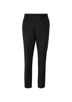 Givenchy - Tapered Wool-Twill Trousers - Men - Black