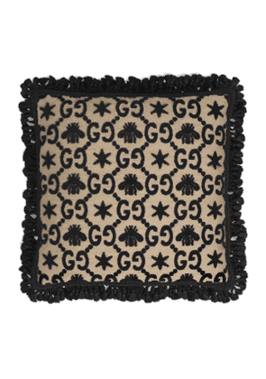 GG jacquard cushion