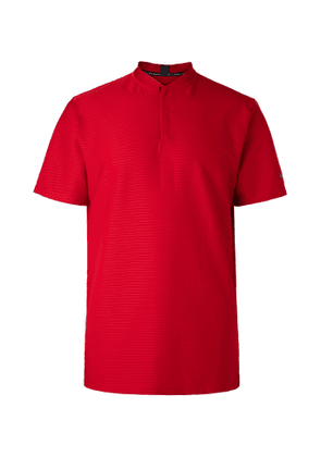 Nike Golf - Tiger Woods Ribbed Dri-FIT Stretch-Jersey Golf Polo Shirt - Men - Red
