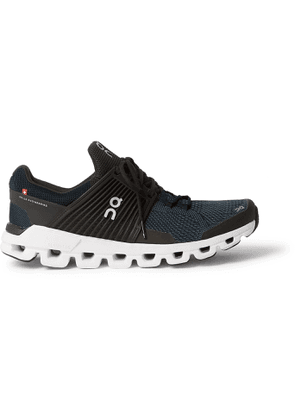 On - Cloudswift Rubber-Trimmed Mesh Running Sneakers - Men - Black