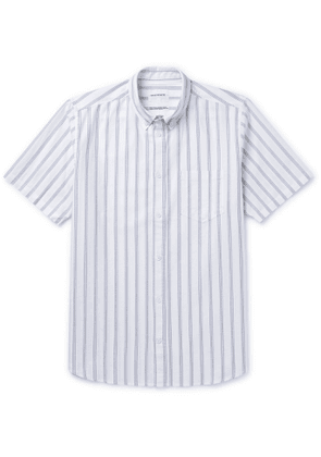 Norse Projects - Theo Buttton-Down Collar Striped Cotton Oxford Shirt - Men - Blue
