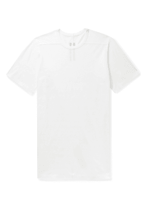 Rick Owens - Level Cotton-Jersey T-Shirt - Men - White