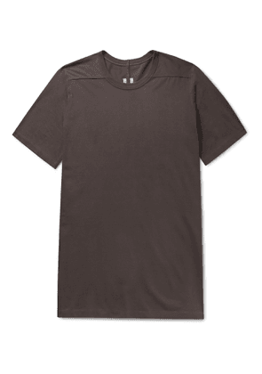 Rick Owens - Level Cotton-Jersey T-Shirt - Men - Brown