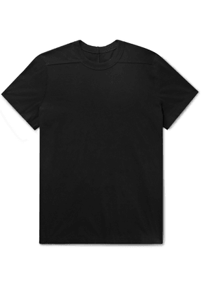 Rick Owens - Level Cotton-Jersey T-Shirt - Men - Black