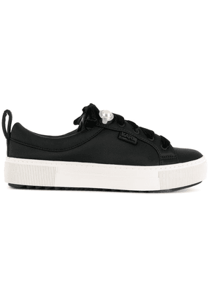 Karl Lagerfeld lace-up sneakers - Black