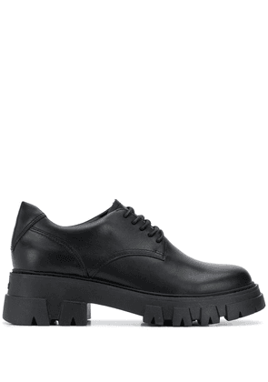 Ash chunky sole lace-up shoes - Black