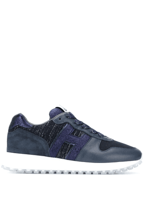 Hogan H383 low-top trainers - Blue