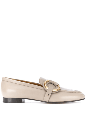 Chloé Demi buckle loafers - NEUTRALS