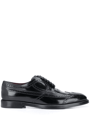 Dolce & Gabbana leather derby shoes - Black