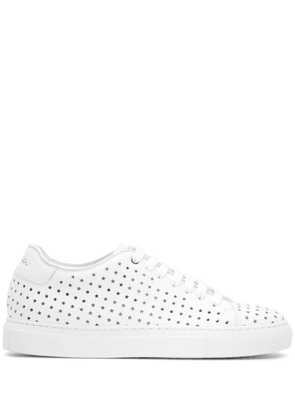 Paul Smith Basso all-over star sneakers - White