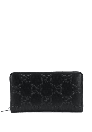 Gucci GG embossed wallet - Black