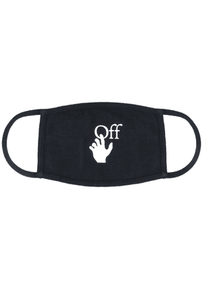 Off-White Hands Off face mask - Black