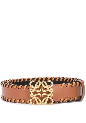 Loewe Anagram buckle belt - Brown