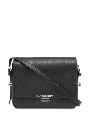 Burberry Small Leather Grace Bag - Black