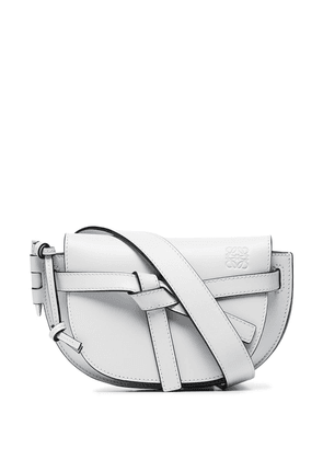 Loewe Gate knotted-detail belt bag - Grey