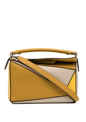 Loewe small Puzzle shoulder bag - Yellow
