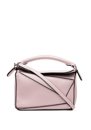 Loewe mini Puzzle shoulder bag - PINK