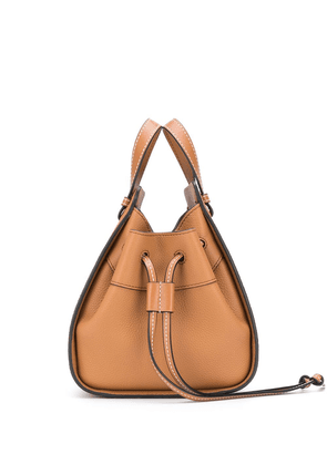 Loewe mini Hammock bucket bag - Brown