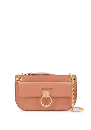 Chloé gold detail leather bag - Brown