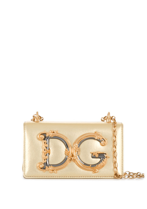 Dolce & Gabbana Dg Girls crossbody bag - GOLD