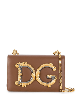 Dolce & Gabbana DG girls crossbody bag - Brown