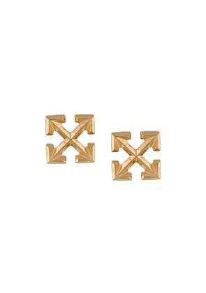 Off-White mini Arrow stud earrings - GOLD