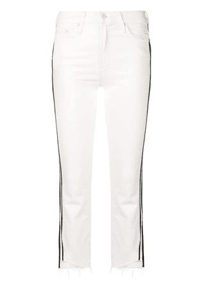 Mother Whipping the Racer jeans - White