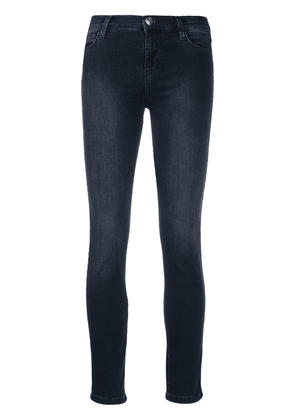 Twin-Set mid-rise skinny jeans - Blue